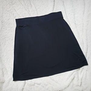 Merona Black A-line Skirt Size XXL, Black Skirt